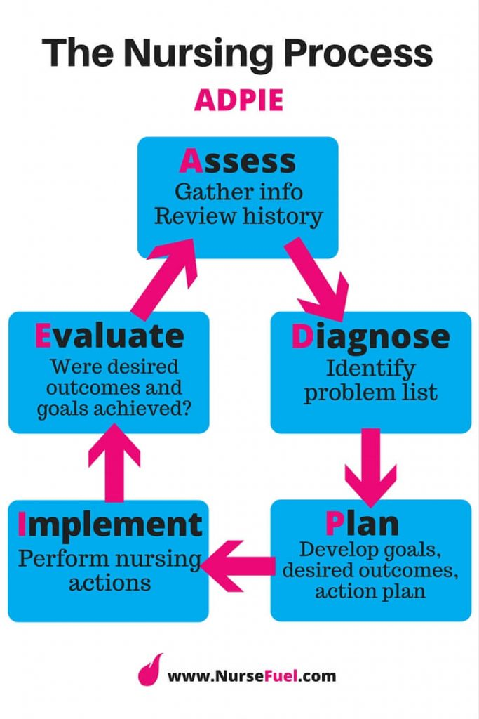 The Nursing Process - http://www.NurseFuel.com