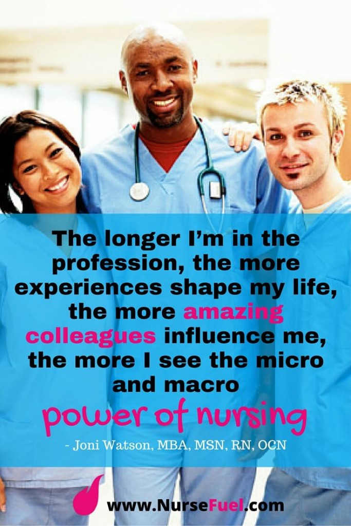 The longer I'm in the profession - http://www.NurseFuel.com