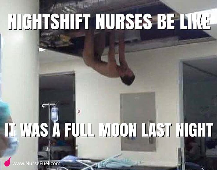 patients on a full moon - http://www.NurseFuel.com