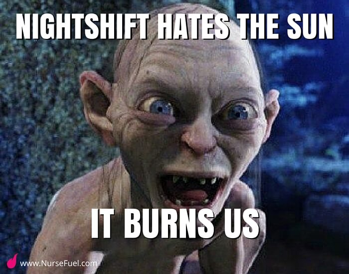 the sun burns us - http://www.NurseFuel.com