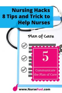 Nursing Hacks - Plan of Care - http://www.NurseFuel.com